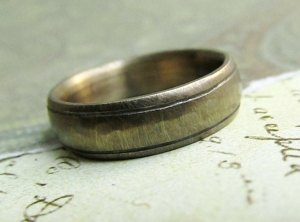 rustic-mens-wedding-band-14k-gold-mens-wedding-ring-comfort-fit-engraved-stamped-oxidized-antique-patina-5-x-2mm-by-jc-metalsmith_1