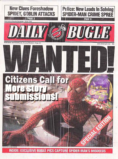 Daily Bugle for contest