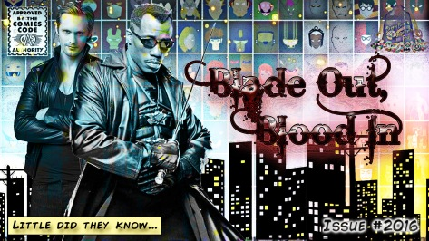 Blade Out Blood In